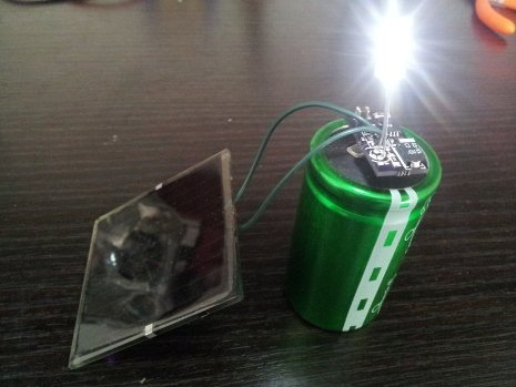 FireSword blog: Infinite garden solar lamp